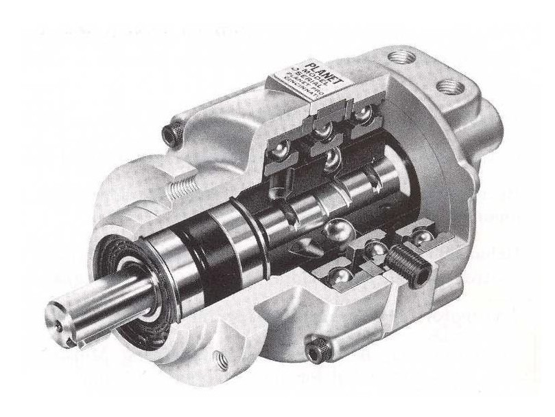 Internals of Standard Hydraulic Motor