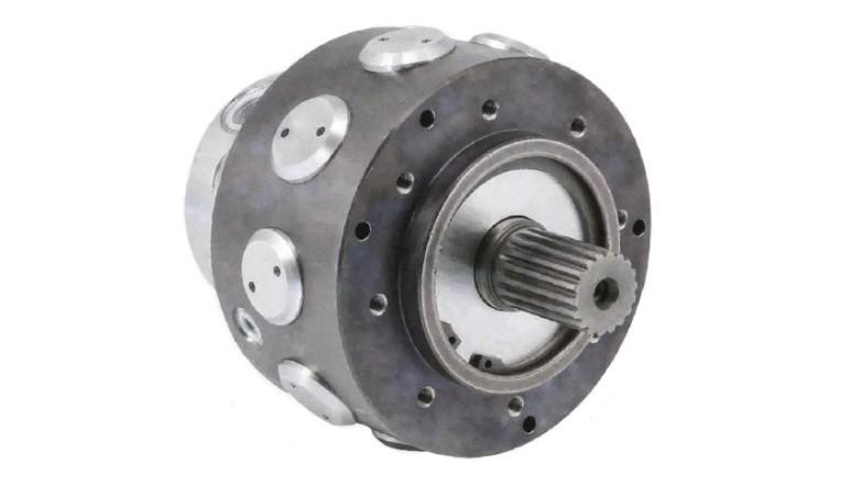 Single Displacement Radial Piston Motor