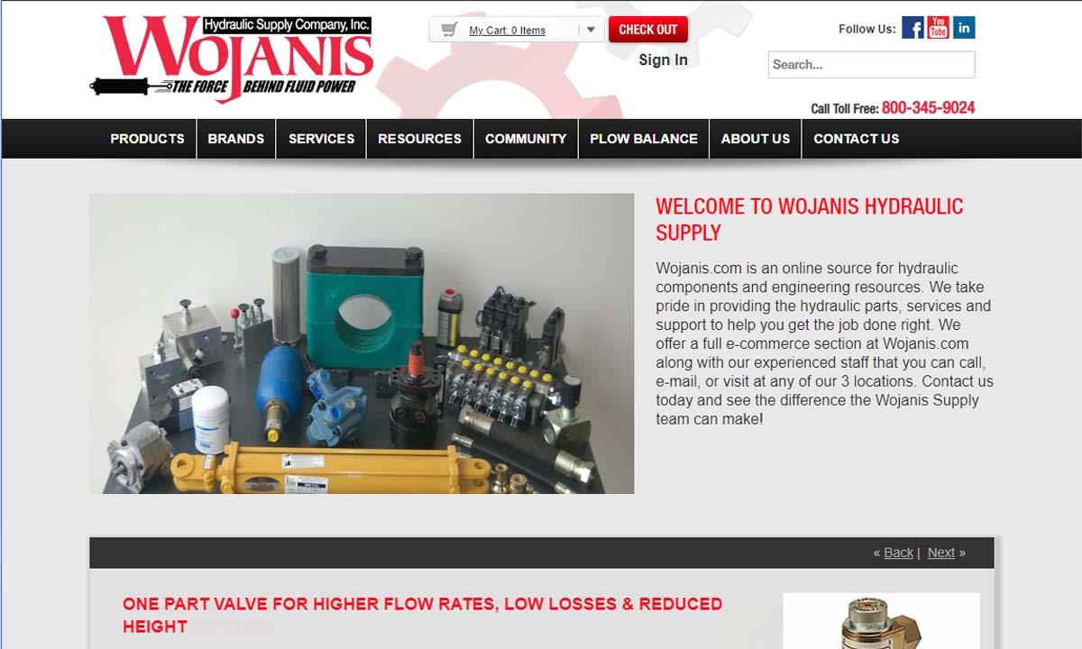 Wojanis Hydraulic Supply Company, Inc.
