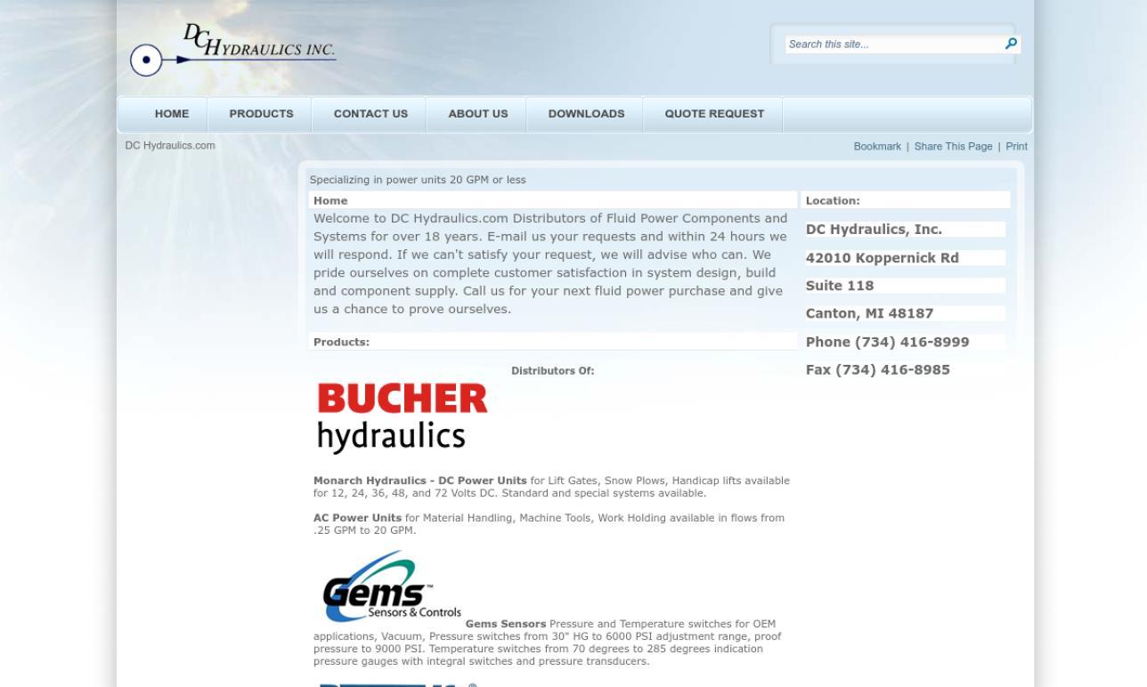 DC Hydraulics, Inc.