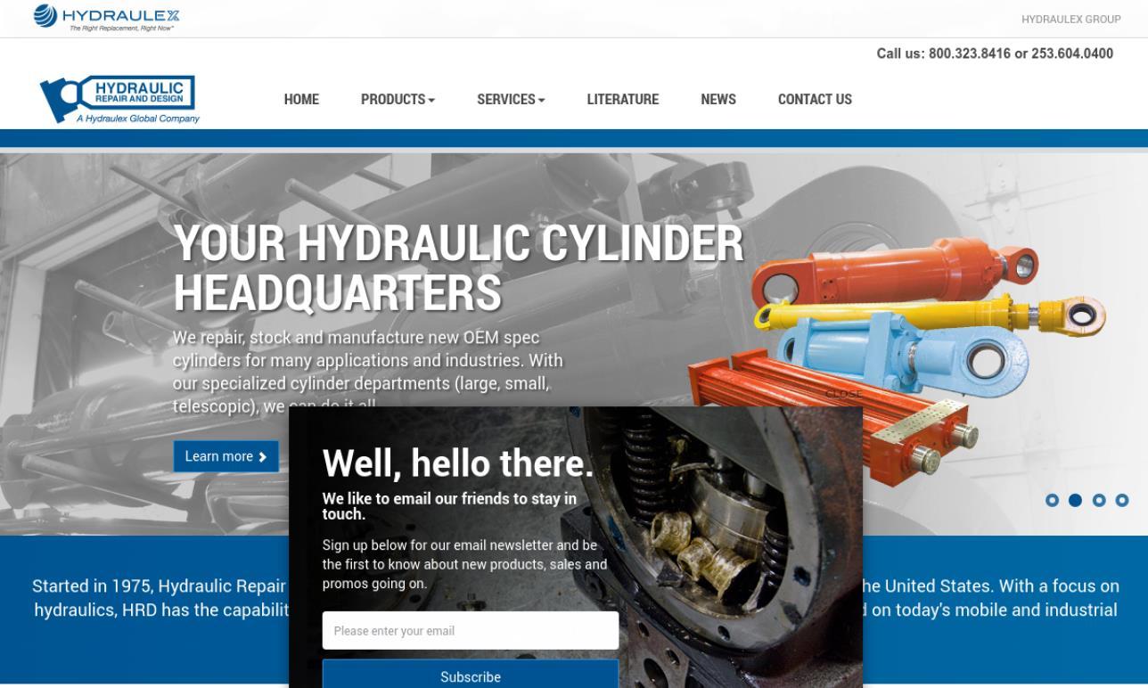 Hydraulic Repair & Design