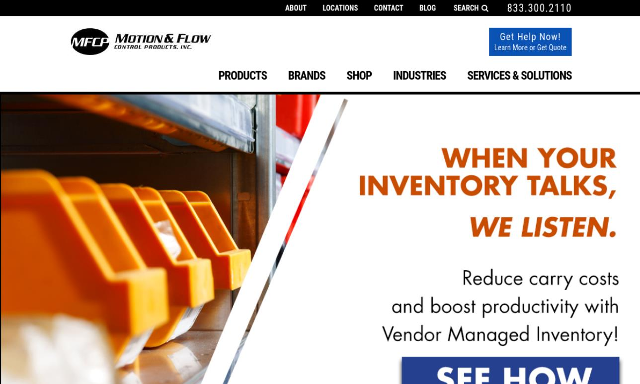 Motion & Flow Control Products