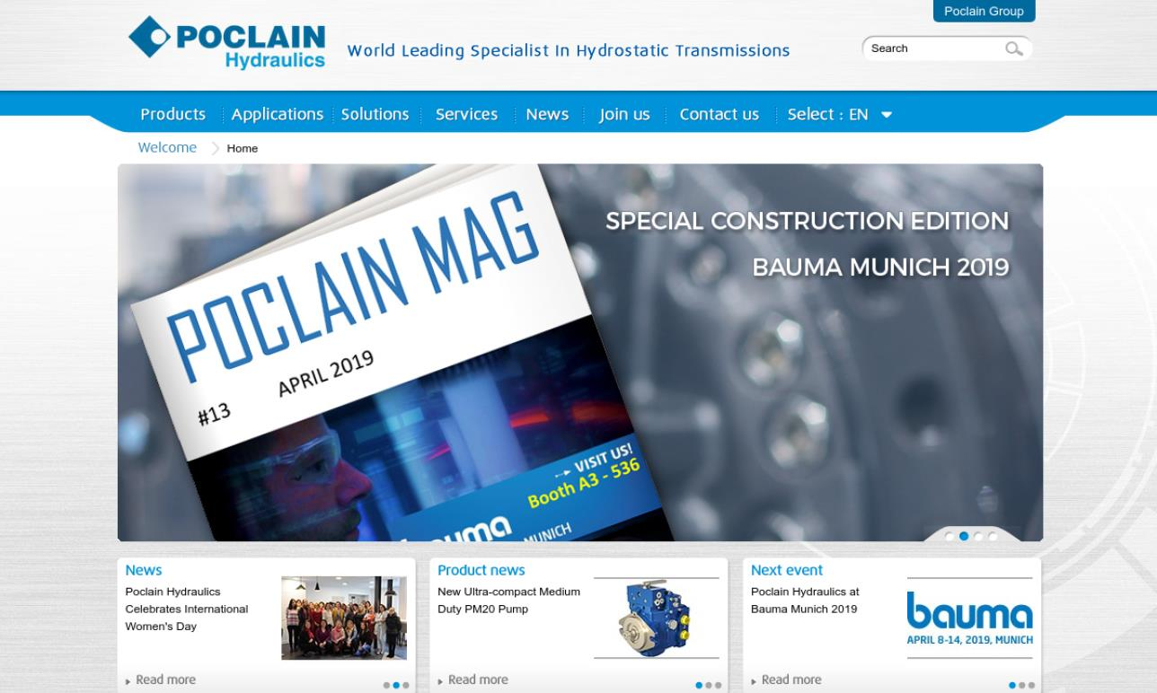 Poclain Hydraulics Inc.