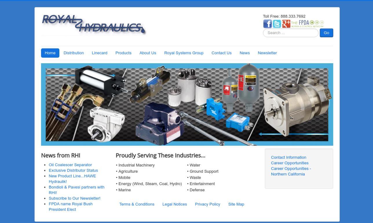 Royal Hydraulics Inc.