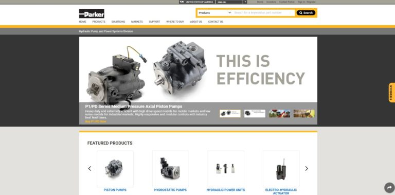 Parker Hannifin - Hydraulic Pump and Power Systems