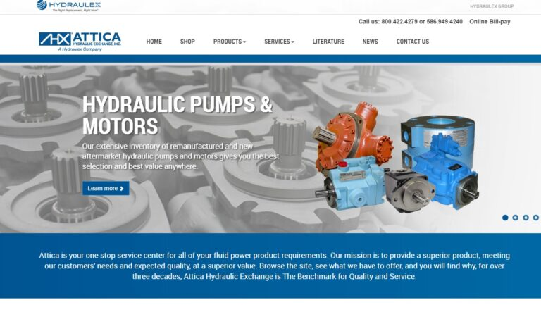 Attica Hydraulic Exchange Corporation